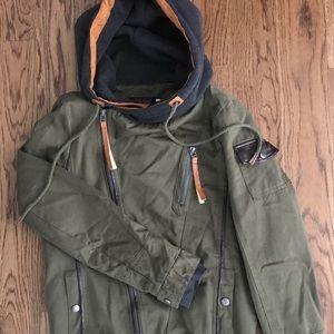 Jackets & Blazers - Women's fall jacket in olive green